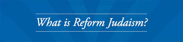 what is reform Judaism